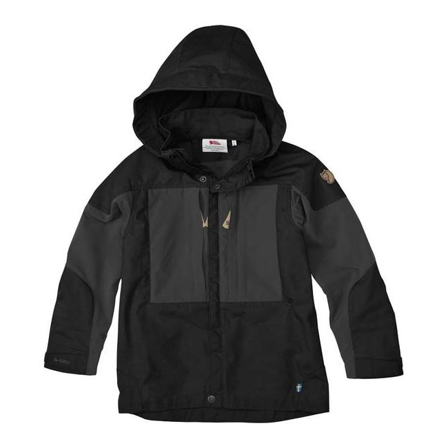 Women Fjallraven KIDS KEB JACKET BLACK  Outlet Online