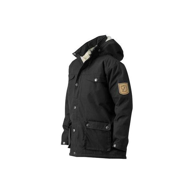 Women Fjallraven GREENLAND KIDS WINTER JACKET BLACK  Outlet Online