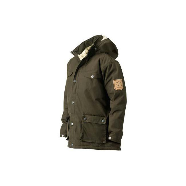 Women Fjallraven GREENLAND KIDS WINTER JACKET DARK OLIVE  Outlet Online