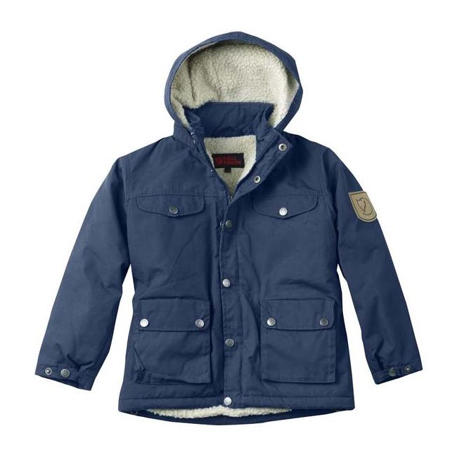 Women Fjallraven GREENLAND KIDS WINTER JACKET BLUEBERRY  Outlet Online