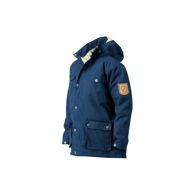 Women Fjallraven GREENLAND KIDS WINTER JACKET UNCLE BLUE  Outlet Online