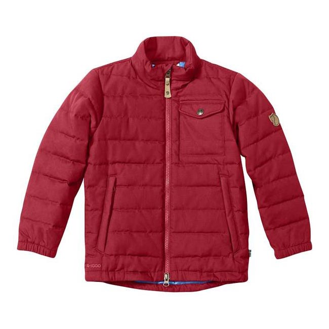 Women Fjallraven KIDS OVIK LITE JACKET DEEP RED Outlet Online