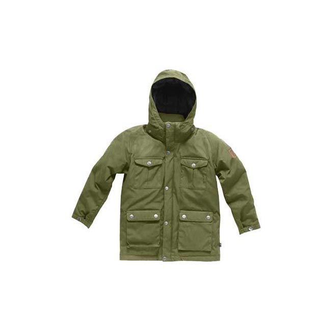 Women Fjallraven GREENLAND KIDS DOWN PARKA GREEN  Outlet Online