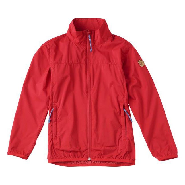 Women Fjallraven KIDS ABISKO WINDBREAKER JACKET RED Outlet Online