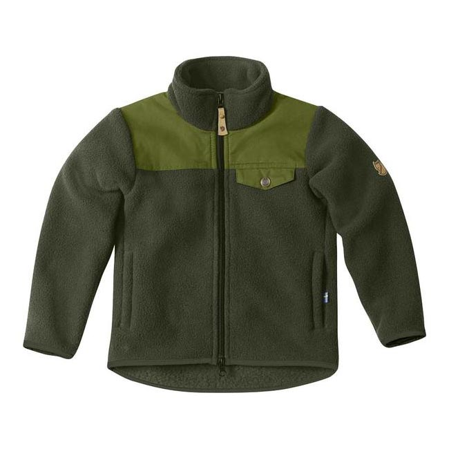 Women Fjallraven KIDS SINGI FLEECE JACKET OLIVE  Outlet Online
