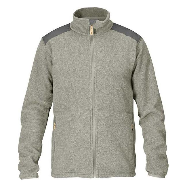 Fjallraven STEN FLEECE Men FOG Outlet Store