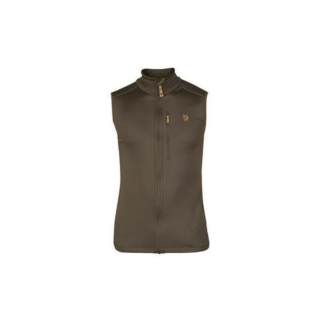 Men Fjallraven KEB FLEECE VEST TARMAC Outlet Online