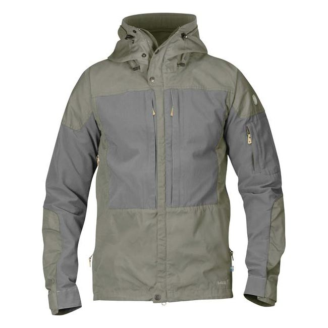 Men Fjallraven KEB JACKET FOG-GREY Outlet Online