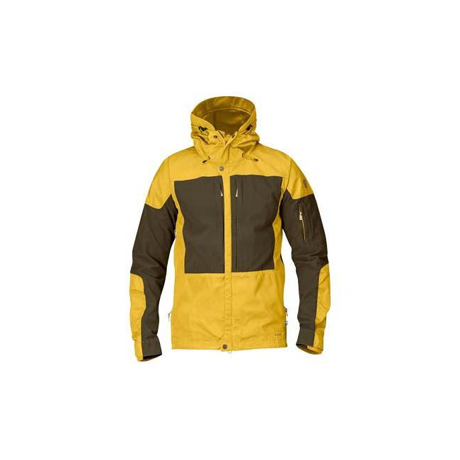 Men Fjallraven KEB JACKET OCHRE Outlet Online