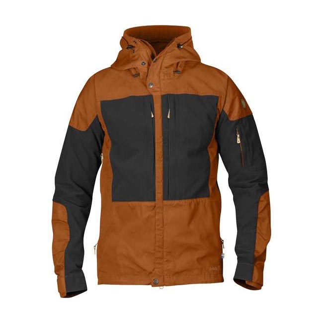 Men Fjallraven KEB JACKET AUTUMN LEAF Outlet Online