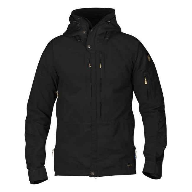 Men Fjallraven KEB JACKET BLACK Outlet Online