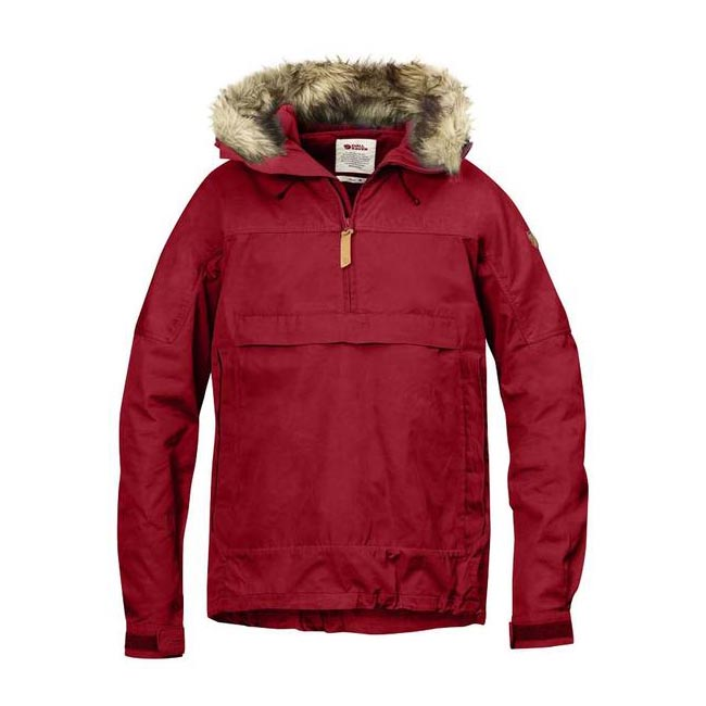 Men Fjallraven SINGI ANORAK DEEP RED Outlet Online