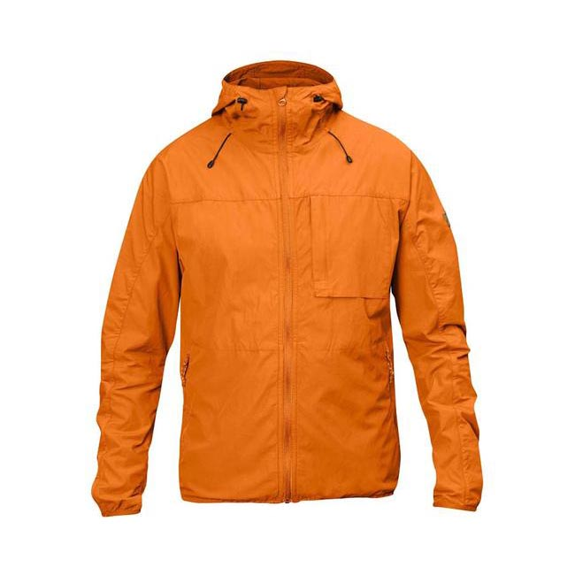 Men Fjallraven HIGH COAST WIND JACKET SEASHELL ORANGE Outlet Online