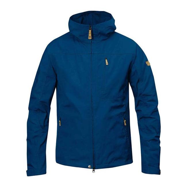 Men Fjallraven STEN JACKET LAKE BLUE Outlet Online