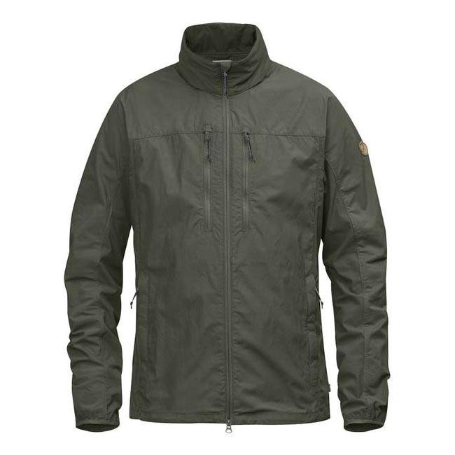 Men Fjallraven HIGH COAST HYBRID JACKET MOUNTAIN GREY Outlet Online