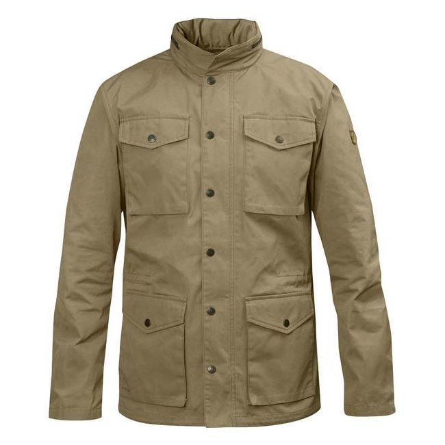 Men Fjallraven RÄVEN JACKET SAND Outlet Online