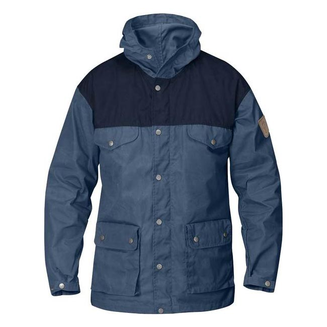 Men Fjallraven GREENLAND JACKET UNCLE BLUE Outlet Online