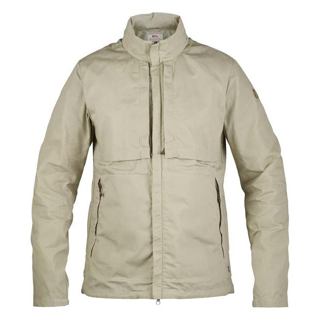 Men Fjallraven TRAVELLERS JACKET LIMESTONE Outlet Online
