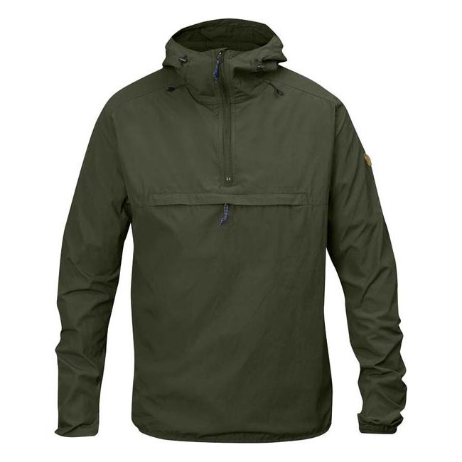 Men Fjallraven HIGH COAST WIND ANORAK MEN'S JACKET OLIVE Outlet Online