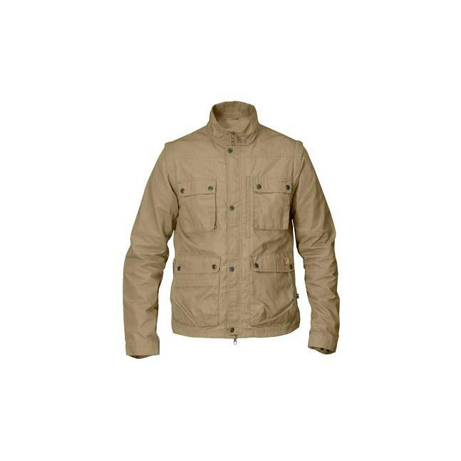 Men Fjallraven REPORTER LITE JACKET SAND Outlet Online