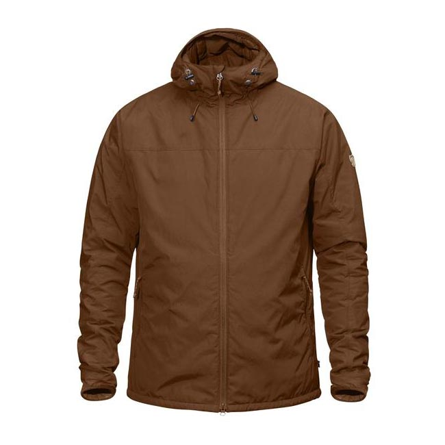 Men Fjallraven HIGH COAST PADDED JACKET CHESTNUT Outlet Online