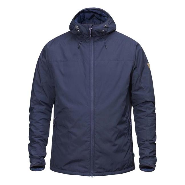 Men Fjallraven HIGH COAST PADDED JACKET NAVY Outlet Online