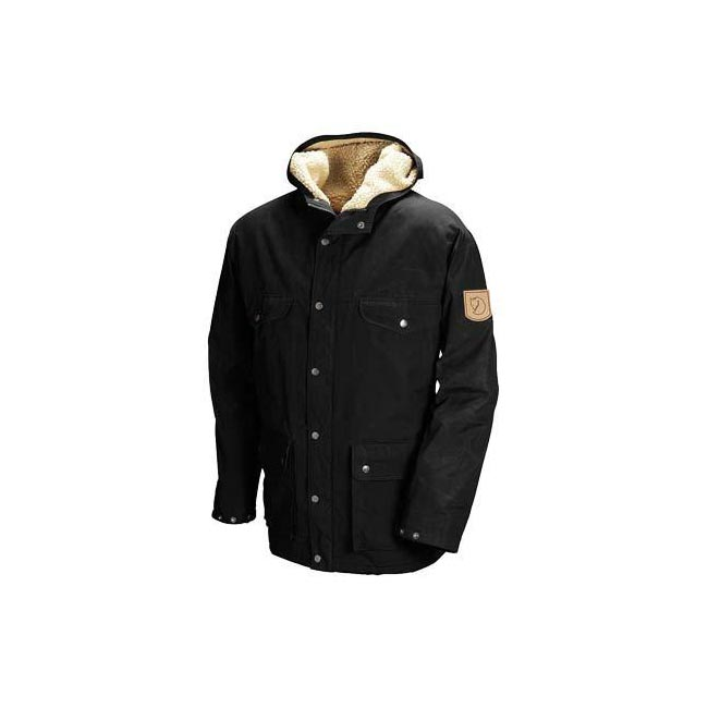Men Fjallraven GREENLAND WINTER JACKET BLACK Outlet Online