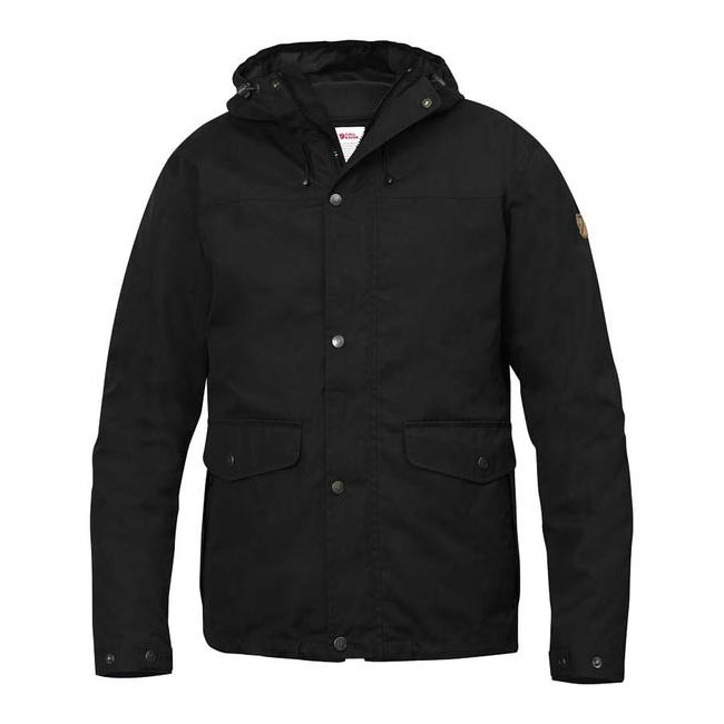 Men Fjallraven OVIK 3 IN 1 JACKET BLACK Outlet Online