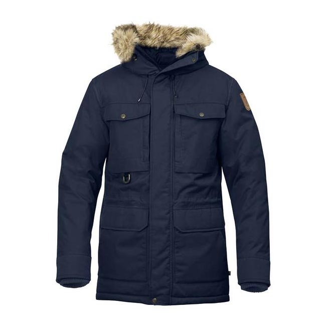 Men Fjallraven POLAR GUIDE PARKA DARK NAVY Outlet Online