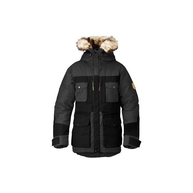 Men Fjallraven ARKTIS PARKA DARK GREY Outlet Online