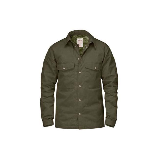Men Fjallraven DOWN SHIRT NO.1 DARK OLIVE Outlet Online