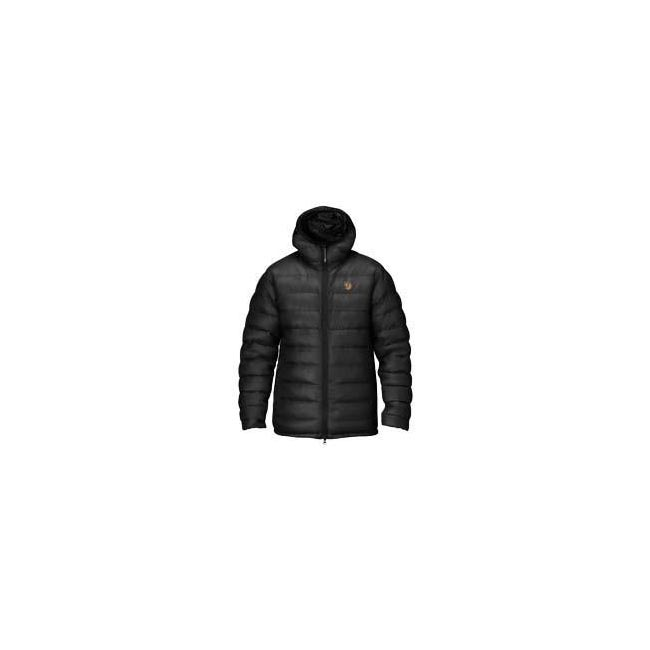 Men Fjallraven PAK DOWN JACKET BLACK Outlet Online