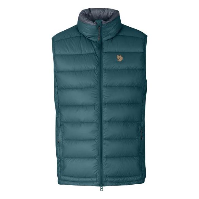 Men Fjallraven PAK DOWN VEST GLACIER GREEN Outlet Online