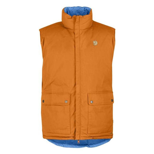 Fjallraven DOWN VEST NO. 9 Men BURNT ORANGE Outlet Store