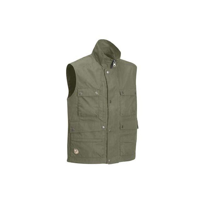 Men Fjallraven REPORTER LITE VEST LIGHT KHAKI Outlet Online
