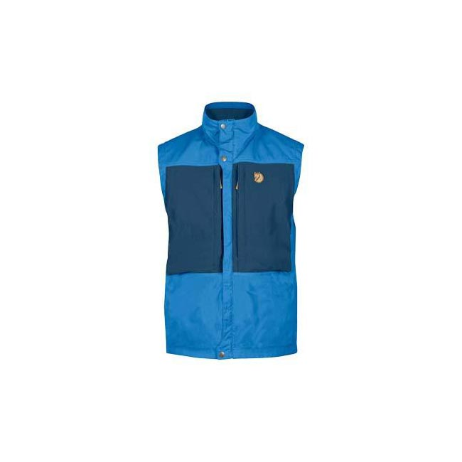 Men Fjallraven KEB VEST UN BLUE Outlet Online