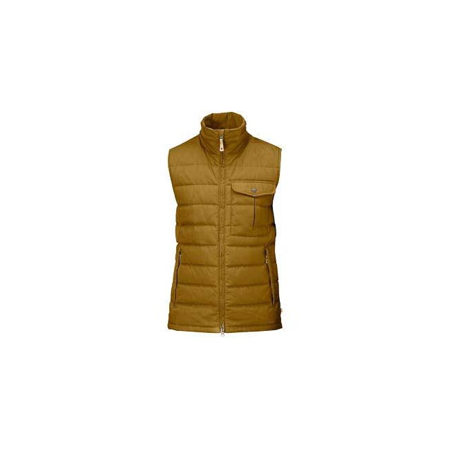 Men Fjallraven OVIK LITE VEST TOBACCO Outlet Online