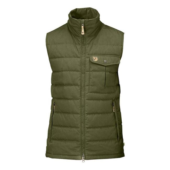 Men Fjallraven OVIK LITE VEST GREEN Outlet Online