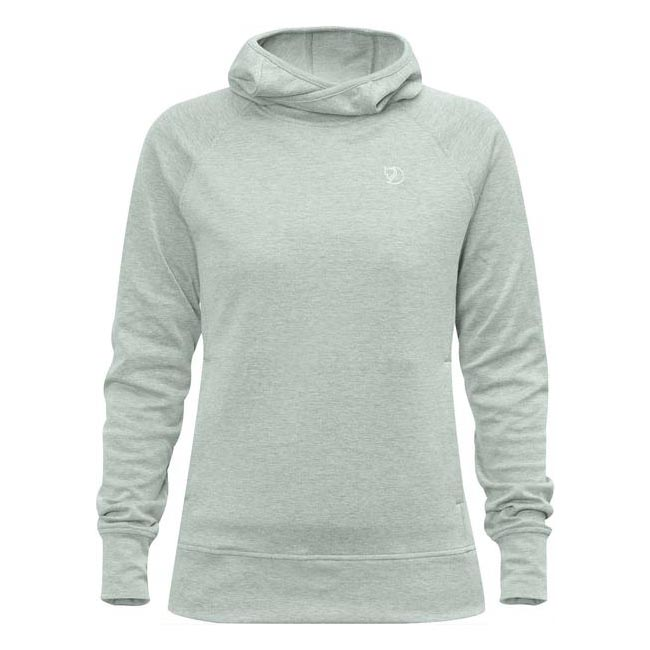 Women Fjallraven HIGH COAST HOODIE W OCEAN MIST  Factory Outlet