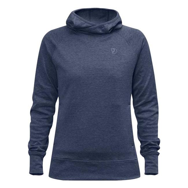 Women Fjallraven HIGH COAST HOODIE W NAVY  Factory Outlet