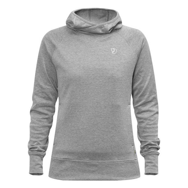 Women Fjallraven HIGH COAST HOODIE W GREY  Outlet Online