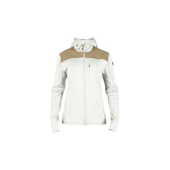 Women Fjallraven KEB FLEECE JACKET W ECRU  Factory Outlet