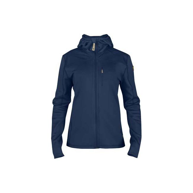 Women Fjallraven KEB FLEECE JACKET W BLUEBERRY  Outlet Online
