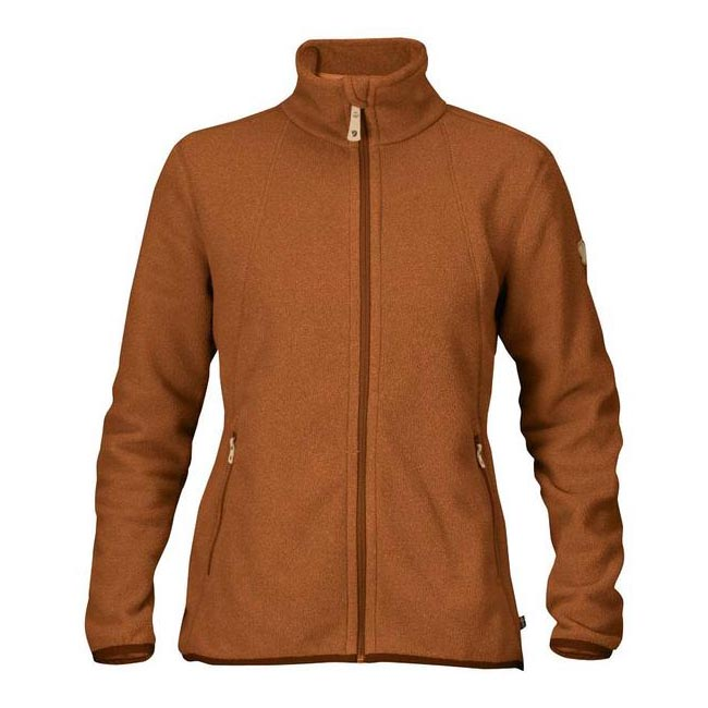 Women Fjallraven STINA FLEECE AUTUMN LEAF Factory Outlet