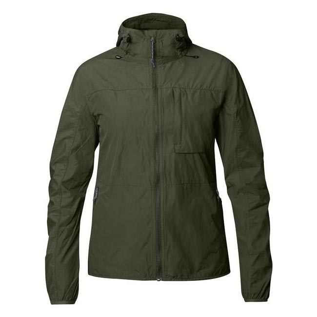 Women Fjallraven HIGH COAST WIND JACKET W OLIVE  Outlet Online