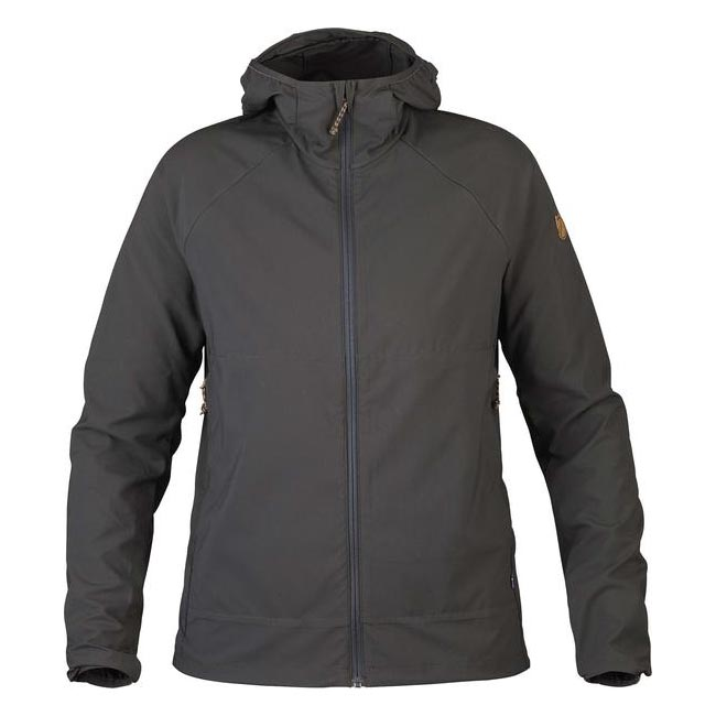 Women Fjallraven ABISKO HYBRID BREEZE JACKET W DARK GREY  Outlet Online