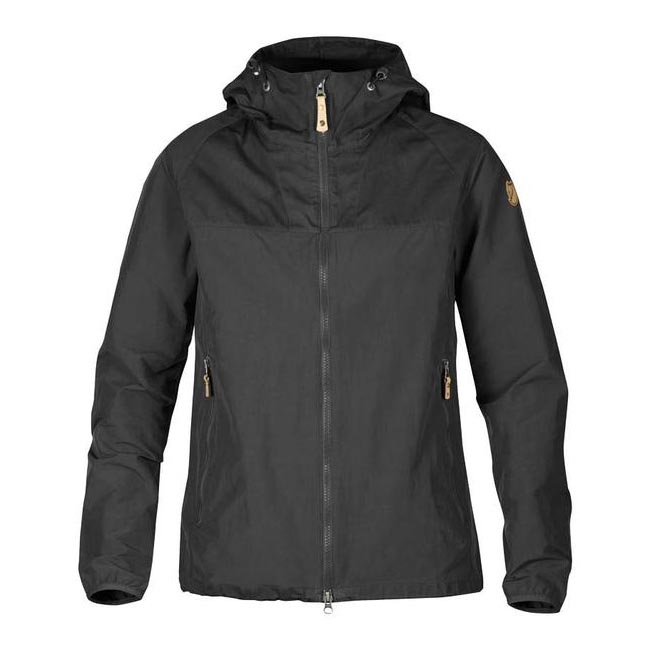 Cheap Fjallraven Women DARK GREY  ABISKO HYBRID JACKET W Online