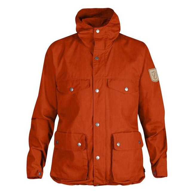 Women Fjallraven GREENLAND JACKET W FLAME ORANGE  Outlet Online