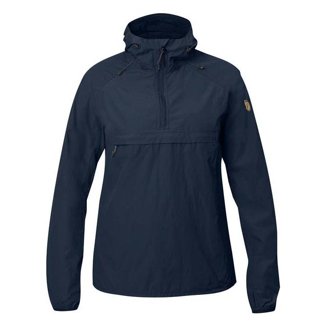 Fjallraven Women HIGH COAST WIND ANORAK W NAVY  On Sale