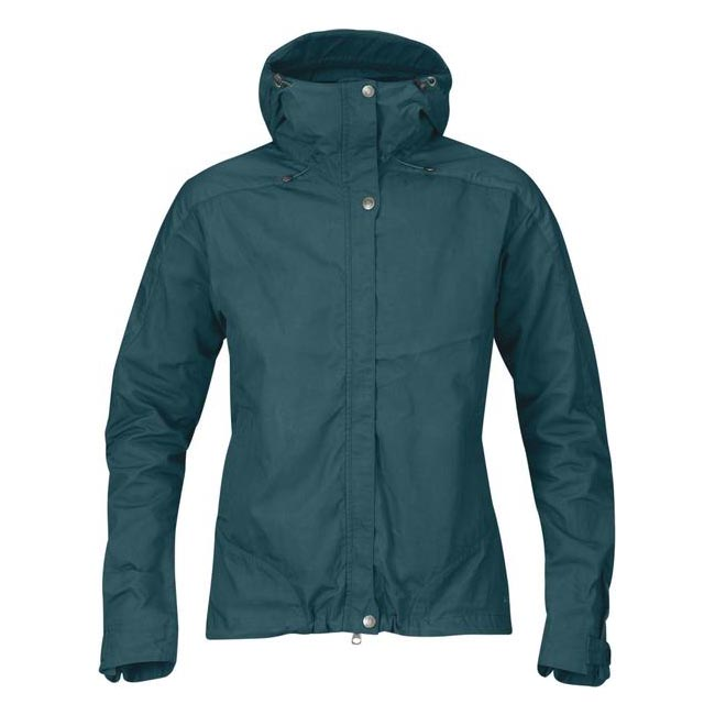 Women Fjallraven SKOGSÖ JACKET W GLACIER GREEN Outlet Online